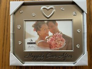 """Malden 4x6 Picture Frame """"Happily Ever After"""""""