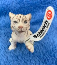 Schleich Wildlife White Tiger figure 14385 New Old Stock With Tags