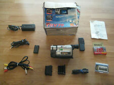 Sony Ccd-Trv75 8mm Hi8 Ntsc X Ray Camcorder with kit, Febr. 1998 Made In Japan
