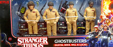 "STRANGER THINGS DUSTIN, MIKE, WILL & LUCAS ALS GHOSTBUSTERS 6"" McFARLANE TOYS"