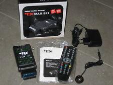 Mini Scart Sat Receiver FTE Max S21 digital DVB-S DiSEqC Camping Wohnmobil OVP