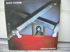 ALICE COOPER LP SPECIAL FORCES PROMO COPY 1ST PRESSING OOP