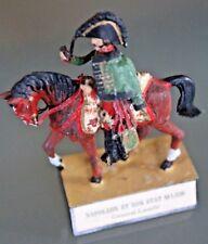 Soldat Blei ALMIRALL Napoleon Und Seinem Zustand Major Lasalle Zu Pferd Jahre 70