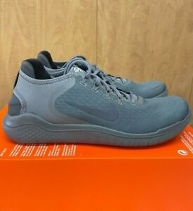 Nike Free RN 2018 Running Shoes Gunsmoke Thunder Gray 942836-011 Men's NEW