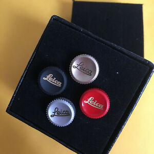 Soft Shutter Release Buttons for Leica M Fujifilm, 11mm, Red/Black/Silver/Gold
