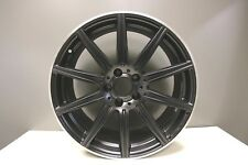 1 GENUINE MERCEDES E CLASS W212 E63 & CLS63 AMG ALLOY WHEEL 9J FRONT BLACK MATT