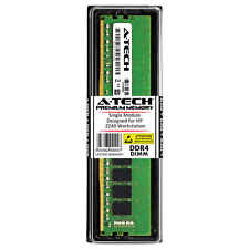 A-Tech 16GB DDR4 2666 MHz PC4-21300 1.2V 2Rx8 Memory RAM for HP Z240 Workstation