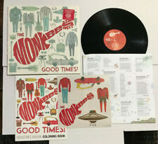 """The Monkees """"Good Times"""" 2016 180g Lp Stickers Rare Coloring Book Nm/Nm Shrink"""