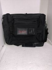 Tumi Ballistic Briefcase Laptop Messenger Original Strap Expandable.