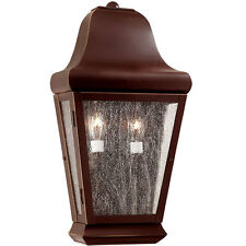 ***NEW*** Troy Lighting BCD6841 Carlton 2 Bulb Outdoor Wall Light