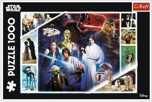 Trefl 1000 Piece Jigsaw Puzzle - Star Wars Collage (ETA 28th July)