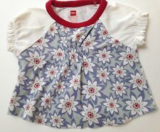 Tea Collection Cotton Top Girls Size XS~3-6 months