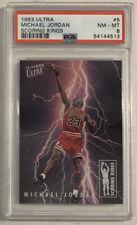 1993 Ultra Michael Jordan Scoring Kings #5 PSA 8 NM-MT, Chicago Bulls,(B193)