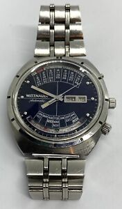 """Vintage Wittnauer ,,2000"""" Automatic Men's Watch. Perpetual Calendar."""