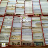 Worldwide Stamp Assortment MNH - 100 Different from 15 Countries in Full Sets