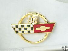 1997 Corvette Pin, Chevrolet Pin, Lapel Pin, Hat Tack, (**)