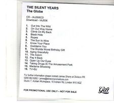 (DW80) The Silent Years, The Globe (UK version) - DJ CD