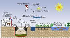 Biogas Energy Power Ethanol Methane cd 25 Bk Anaerobic Digester Self Sufficient