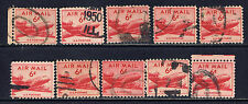 United States #C39(8) 1949 6 cent Airmail - DC-4 Skymaster Plane Used