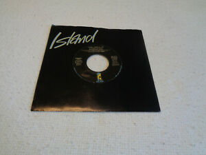 "Bourgeois Tagg ‎– I Don't Mind at All - Island 7"" Vinyl 45 - 1987 - NM-"