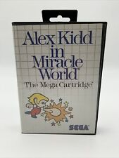 Alex Kidd in Miracle World (Sega Master System, SMS) Tested Working  (No Manual)