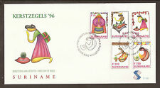 Suriname 1996 FDC. Christmas. Stylised Madonna and Child