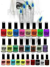 SMALTO unghie FLUO NEON UV FOSFORESCENTE al buio nail art 27 TIPI a tua scelta!