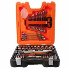 """Bahco 106 Piece 1/4"""" & 1/2"""" Square Drive Socket & Spanner Set - S106"""