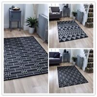 Kitchen hall  mat rug gel backing washable flat weave sisal seagrass Moda runner