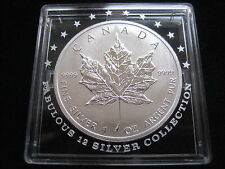 "MDS canadá/Canada 5 dollars 2012 ""maple leaf"", plata dh1"
