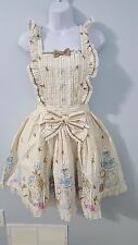 Angelic Pretty Glass Bottle of tears JSK Apron One Size  Dress NWOT