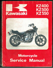 Service Manual KAWASAKI Z 400 500 550 KZ 1979/81 Manuel Technique Revue Atelier