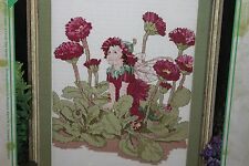 DOUBLE DAISY cross stitch kit Designs for the Needle NIP  FLOWER FAIRIES