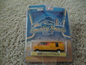 greenlight country roads 1976 Dodge B-100 street van series 12