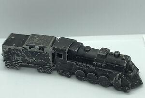 Vintage Metal Midgetoy Train Cars Made In Rockford Illinois Midge Toy Railroad