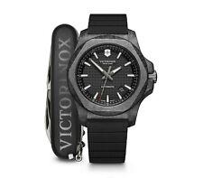 *BRAND NEW* Victorinox Swiss Army Men's INOX Carbon Automatic Black Watch 241866