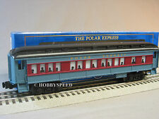 LIONEL POLAR EXPRESS BABY MADISON CONDUCTOR ANNOUNCEMENT COACH lighted 6-36875