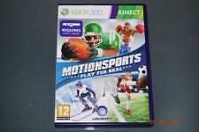 Motionsports Play for Real Xbox 360 UK PAL (Kinect Required) **FREE UK POSTAGE**