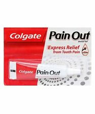 4 x Colgate Pain OUT Dental Gel 10 gm Express Relief Tooth Pain (FREE SHIPPING)