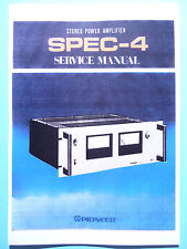 Service Manual-Instructions pour pioneer spec - 4