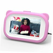 Kids Digital Photo Frame, Birthday Gifts for 6-14 Year Old Girls, Kids Pink
