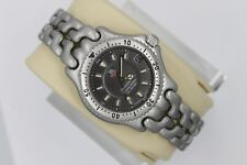 Tag Heuer SEL Gray AUTOMATIC S89.213 Watch Midsize Men Womens Silver Chronometer