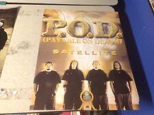Rare Vintage! Music cd Lp Album Promo Poster P.O.D. metal payable on death 1 .