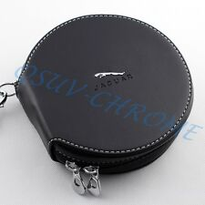 Black Car CD DVD Holder Bag Storage Case For Jaguar XJF XF Accessories Parts