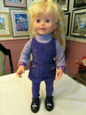 """Amazing Ally Interactive Doll W/ Original Outfit - Talks & Mouth Moves 18"""" Tall"""