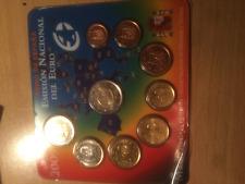 Euro Espagne BU 2009 9 pièces: 1ct à 2€ et 2€ Commémorative E.M.U.