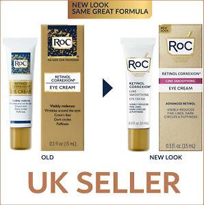 RoC Retinol Correxion Eye Cream Anti-Ageing Line Smoothing Deep Wrinkle/Dark