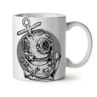 Deep Sea Anchor Fashion NEW White Tea Coffee Mug 11 oz | Wellcoda