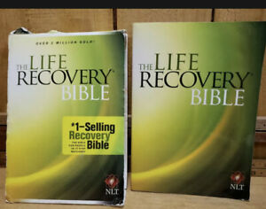 The Life Recovery Bible by Stoop, Arterburn & Staff 2006 Paperback New Edition