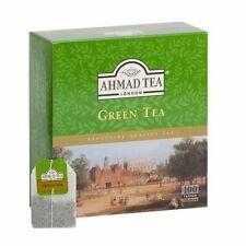 AHMAD TEA , GREEN TEA  , 100 BUSTINE  , Scadenza  29/03/2023